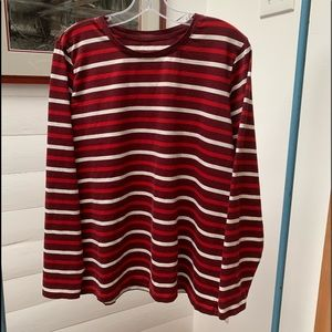 Lands' End Relaxed Fit Crewneck Long Sleeve Top #2